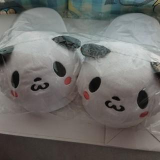 ラクテン(Rakuten)の楽天 お買いものパンダ もこもこスリッパ 専用(スリッパ/ルームシューズ)