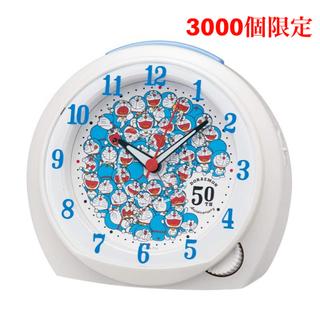 セイコー(SEIKO)のドラえもん×SEIKO 目覚まし時計 ドラえもん50周年 24時間以内発送(キャラクターグッズ)