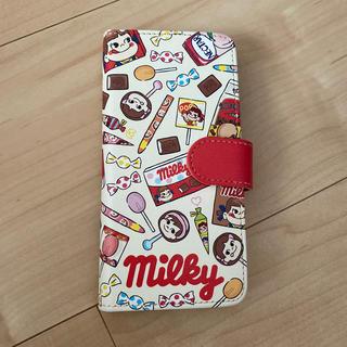 イッツデモ(ITS'DEMO)のiPhone7.8折りたたみケース ペコちゃん  (iPhoneケース)
