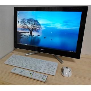 SONY - VAIO 高性能PC i7 24インチ SSD 8G W録画 Office