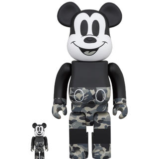 BE@RBRICK ベアブリック BAPE(R) MICKEY MOUSE  (その他)