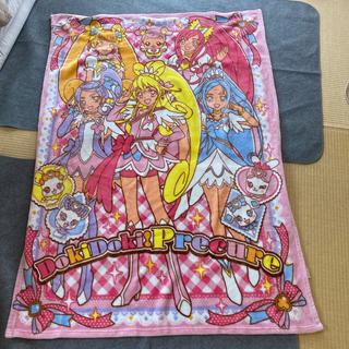 ドキドキプリキュア ハーフケット毛布(毛布)