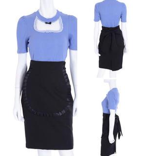 イートミー(EATME)のEAT ME❤︎エプロン コクーン スカート(ひざ丈スカート)