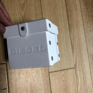 ディーゼル(DIESEL)のディーゼル箱(白)(ショップ袋)