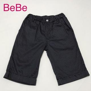 ベベ(BeBe)のハーフパンツ グレー&ブラック(パンツ/スパッツ)