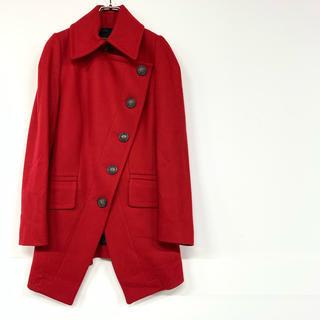 ヴィヴィアンウエストウッド(Vivienne Westwood)の【美品】ヴィヴィアン ウエストウッド アングロマニア コート 赤 a611(ロングコート)