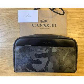 コーチ(COACH)の(F04395) コーチ F76854 カモフラージュ セカンドバッグ ポーチ(セカンドバッグ/クラッチバッグ)