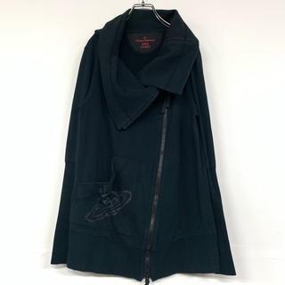 ヴィヴィアンウエストウッド(Vivienne Westwood)のヴィヴィアン ウエストウッド ジップ ブルゾン 変形 オーブ 黒 a663(ブルゾン)