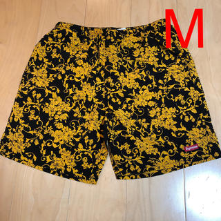シュプリーム(Supreme)の Supreme Nylon Water Short Black Floral (水着)