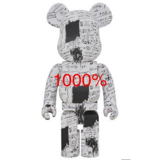 メディコムトイ(MEDICOM TOY)のBE@RBRICK JEAN MICHEL BASQUIAT #3 1000%(キャラクターグッズ)
