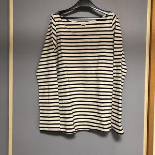 シェル(Cher)のchore shore ボーダー Tシャツ 新品 シェルショア(Tシャツ(長袖/七分))