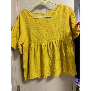 サマンサモスモス(SM2)のサマンサモス カットソー 綿100(Tシャツ/カットソー(半袖/袖なし))