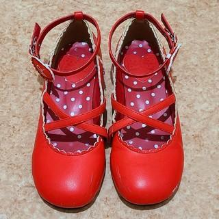 アンジェリックプリティー(Angelic Pretty)のAngelic Pretty★Girly Ribbon Shoes(ハイヒール/パンプス)