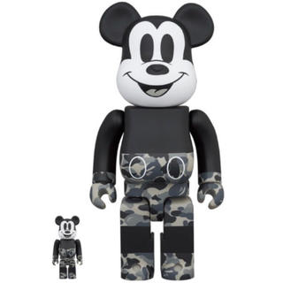 Bape × Mickey Mouse BE@RBRICK 100% & 400(その他)