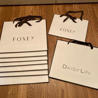 フォクシー(FOXEY)の⭐️フォクシー ショップ袋 大サイズ8枚+中サイズ 1枚(ショップ袋)