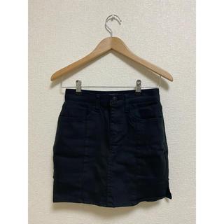 エックスガール(X-girl)のタイトスカート スカートズボン black up(ミニスカート)
