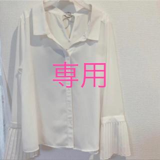 リゼクシー(RESEXXY)のリゼクシー バックリングブラウス(シャツ/ブラウス(長袖/七分))