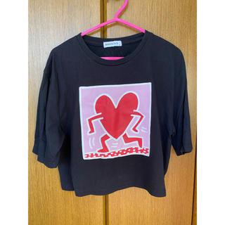 ウィゴー(WEGO)のKeith Haring Tシャツ(Tシャツ(半袖/袖なし))