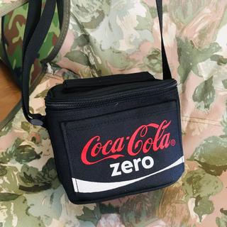 コカコーラ(コカ・コーラ)の新品未使用 コカコーラ Coca-Cola zero ミニ保冷バック(日用品/生活雑貨)