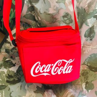 コカコーラ(コカ・コーラ)の新品未使用 コカコーラ Coca-Cola ミニ保冷バック(日用品/生活雑貨)