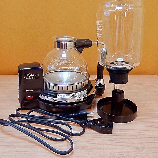 TWINBIRD(ツインバード)のTWINBIRD サイフォン式コーヒーメーカー CM-D854 スマホ/家電/カメラの調理家電(コーヒーメーカー)の商品写真