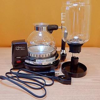 ツインバード(TWINBIRD)のTWINBIRD サイフォン式コーヒーメーカー CM-D854(コーヒーメーカー)