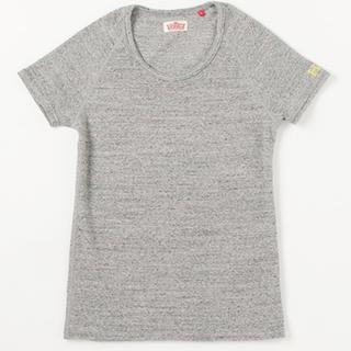 ハリウッドランチマーケット(HOLLYWOOD RANCH MARKET)のハリウッドランチマーケット ストレッチフライスUネックショートスリーブTシャツ(Tシャツ/カットソー(半袖/袖なし))