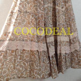 ココディール(COCO DEAL)のCOCODEALスカート(ロングスカート)