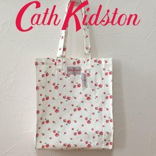 キャスキッドソン(Cath Kidston)の新品 キャスキッドソン コットンブックバッグ スケーターローズナチュラル(トートバッグ)