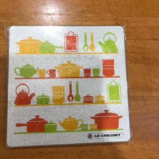 ルクルーゼ(LE CREUSET)のルクルーゼ鍋敷き  新品未使用(キッチン小物)