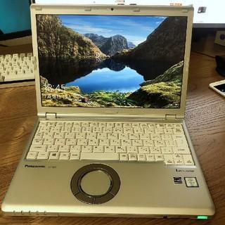 パナソニック(Panasonic)の美品Panasonic SZ5・i5・8G・256SSD・Office(デスクトップ型PC)