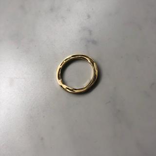 エルメス(Hermes)のdan tomimatsu ダントミマツ 18k ゴールド 15号(リング(指輪))