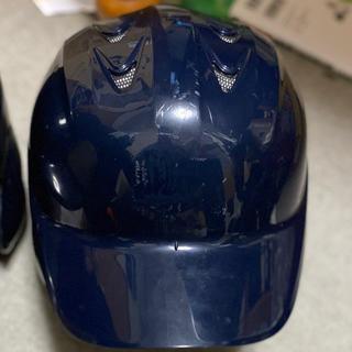 エスエスケイ(SSK)のSSK  軟式用ヘルメット ネイビー(防具)