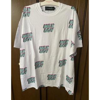 ミルクボーイ(MILKBOY)の甚平ミルクボーイ ロゴプリ ビッグTシャツ XXL(Tシャツ/カットソー(半袖/袖なし))