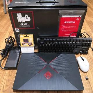 ヒューレットパッカード(HP)の(超美品)HP Omen 15 gtx1060 Windows 10 pro(ノートPC)