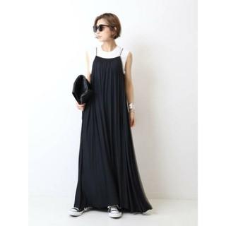ドゥーズィエムクラス(DEUXIEME CLASSE)のDeuxieme Classe☆Sun Dress ブラック ワンピース(ロングワンピース/マキシワンピース)