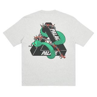 シュプリーム(Supreme)のPalace HESH MIT FRESH GREY パレス Tシャツ(Tシャツ/カットソー(半袖/袖なし))