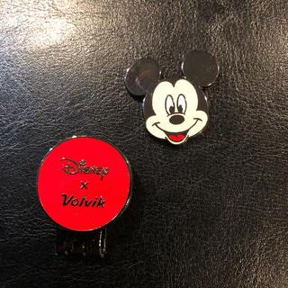 ディズニー(Disney)のミッキーマウスクリップ付きボールマーク(その他)