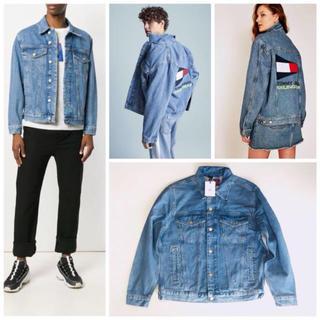 トミーヒルフィガー(TOMMY HILFIGER)のtommy jeans カプセルコレクション デニムジャケット Gジャン(Gジャン/デニムジャケット)