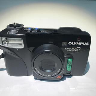 オリンパス(OLYMPUS)のフイルムカメラ OLYMPUS superzoom70 38-70mm zoom(フィルムカメラ)