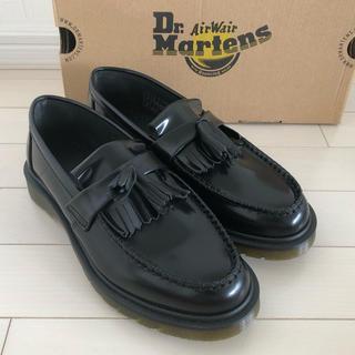 ドクターマーチン(Dr.Martens)の【m様専用】24.0 ドクターマーチン ローファー ADRIAN ブラック(ローファー/革靴)