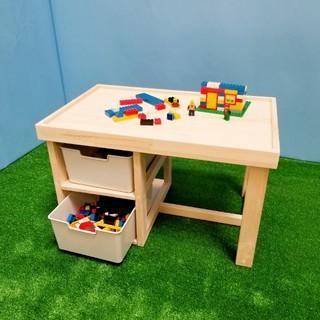レゴ収納テーブル(おもちゃ/雑貨)