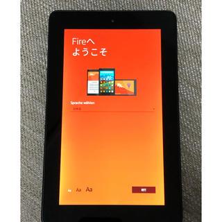 Amazon Fire タブレット 第5世代 7インチ 8GB(タブレット)