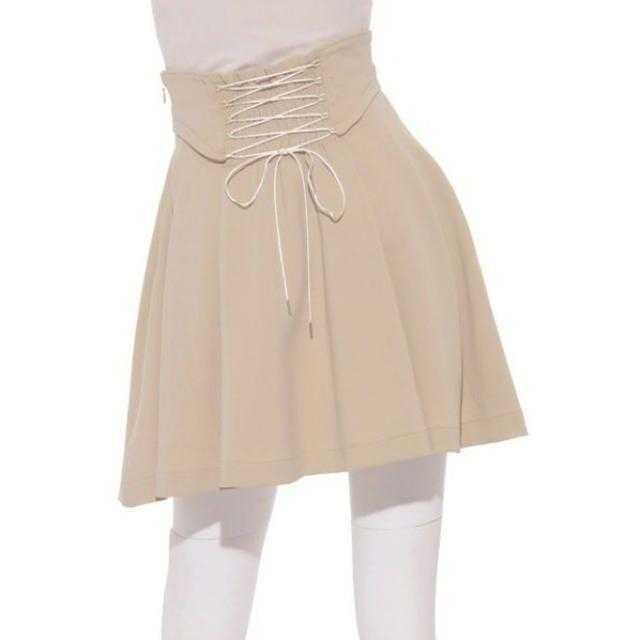 snidel(スナイデル)のsnidel コルセットベルトスカート レディースのスカート(ミニスカート)の商品写真