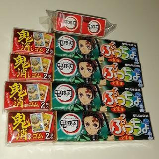 ユーハミカクトウ(UHA味覚糖)の鬼滅の刃☓ぷっちょワールド オリジナル鬼消しゴム(菓子/デザート)