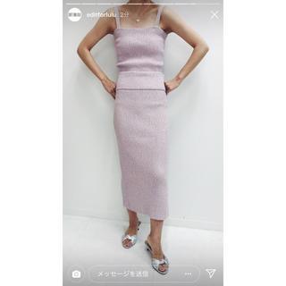 エディットフォールル(EDIT.FOR LULU)のlulu skirt(ひざ丈スカート)