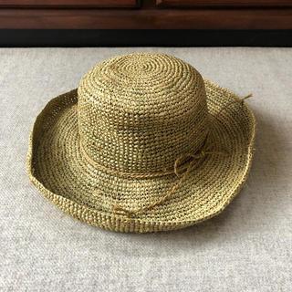 スタディオクリップ(STUDIO CLIP)の【 Chachet 】麦藁帽子 ストローハット UV対策 Freeサイズ (麦わら帽子/ストローハット)