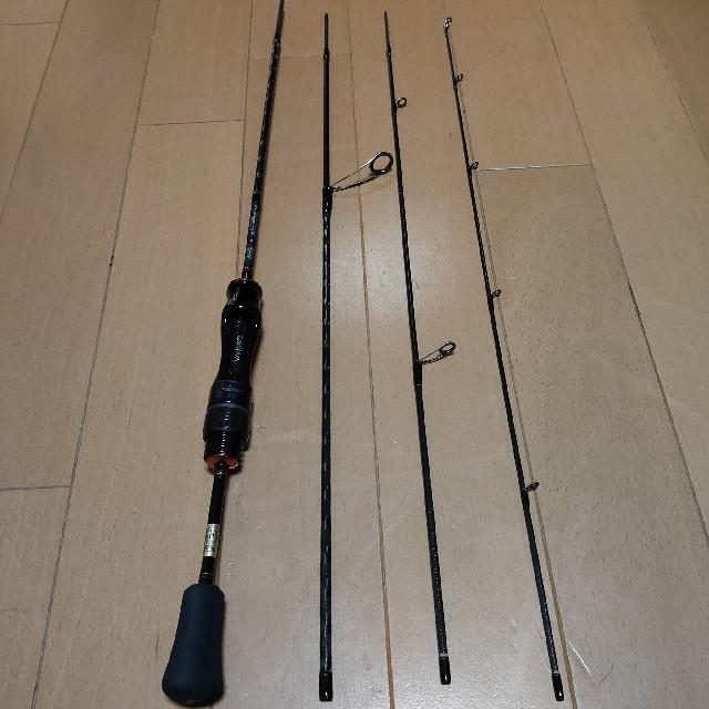 DAIWA(ダイワ)のダイワ(Daiwa)イプリミ 60XUL-4 トラウトロッド スポーツ/アウトドアのフィッシング(ロッド)の商品写真