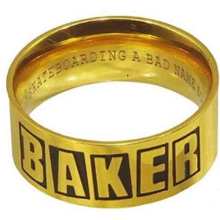 ベイカー(BAKER)のBAKER ゴールドリング Mサイズ(リング(指輪))