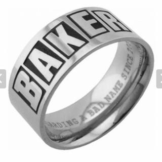 ベイカー(BAKER)の【女性スケーター必見】BAKER リング XSサイズ(リング(指輪))